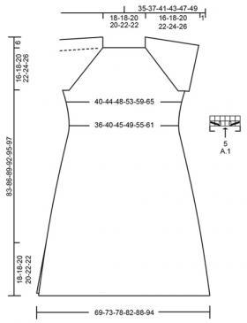 Платье Верона - Выкройка 1