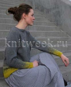 Пуловер Усеянный звездами - Фото 1