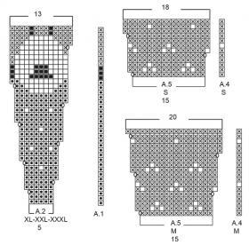 Жакет Шип хэппинс - Схема 2
