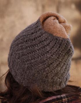 Двухсторонняя шапка - Фото 2