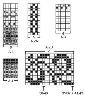 Носки Телемарк - Схема 1
