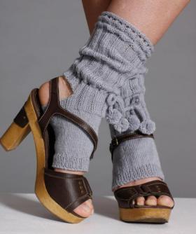 Танцевальный носки с помпонами