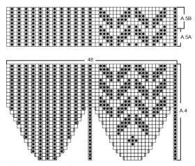 Носки Хоки-Поки - Схема 2