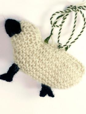 Брелок овечка - Фото 1