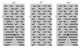 Шаль рог изобилия - Схема 4