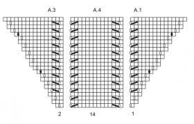 Шаль золушка - Схема 2
