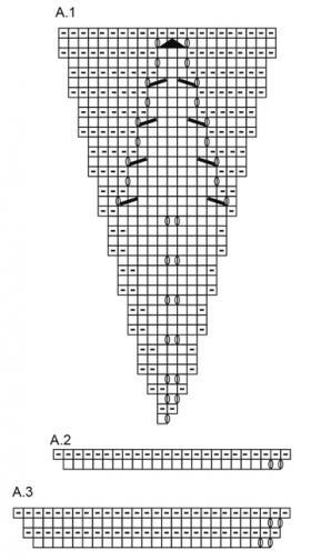Джемпер утренняя звезда - Схема 2