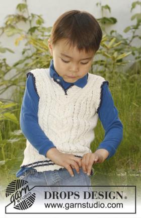 Рельефная безрукавка для мальчика