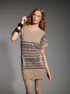 Платье-свитер Джой