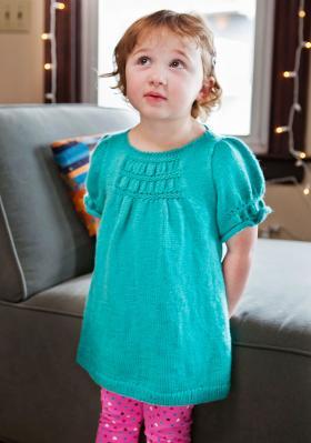 Бирюзовое платье для девочки