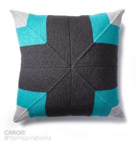 Подушка с диагональным узором - Фото 1