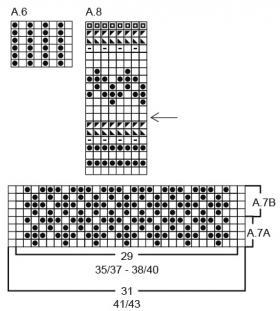 Носки Хоки-Поки - Схема 1