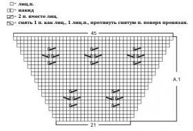 Джемпер Побережье - Схема 1