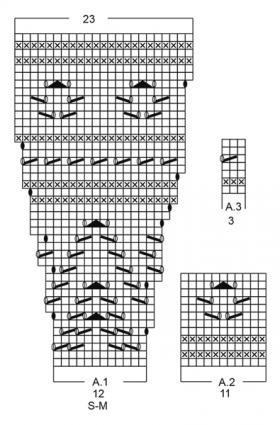 Джемпер свет зари - Схема 2