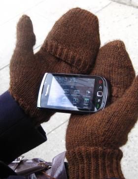 Варежки-перчатки