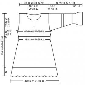 Платье Кэндис - Выкройка 1