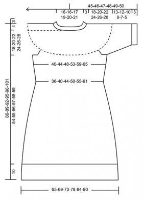 Платье Шотландский танец - Выкройка 1