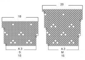 Свитер Шип Хэппинс - Схема 4