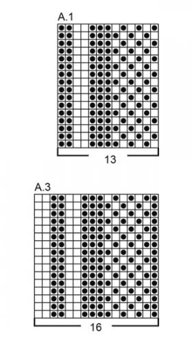Пончо Аланна - Схема 2