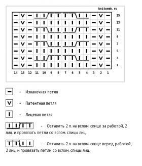 Джемпер игра в прятки - Схема 2