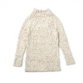 Пуловер Текстурное смещение - Фото 2