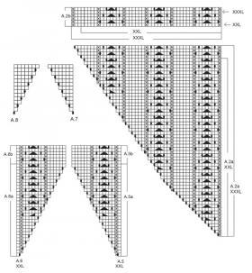 Джемпер персиковая нота - Схема 5