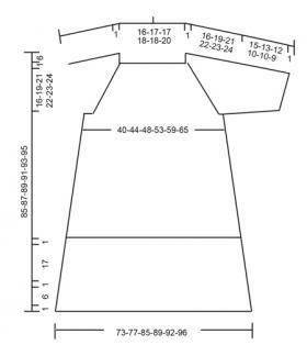Платье испанская соната - Выкройка 1