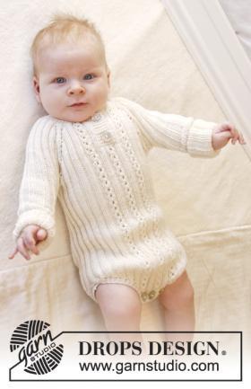 Боди спицами для малыша регланом