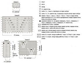 Нарядный жакет с узором шишечки - Схема 1