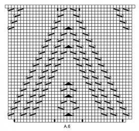 Шаль Альмерия - Схема 3