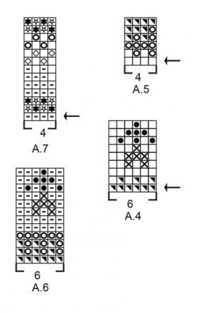 Носки вечная зима - Схема 1