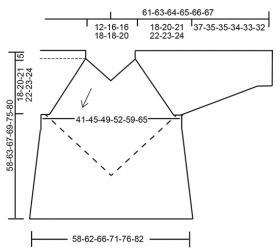 Пуловер Атлантида - Схема 3