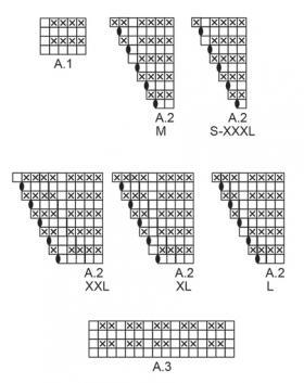 Пуловер Сладкий жемчуг - Схема 2