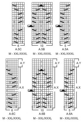 Пуловер Леди Ангелика - Схема 3