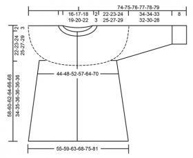 Жакет черничный квас - Выкройка 1