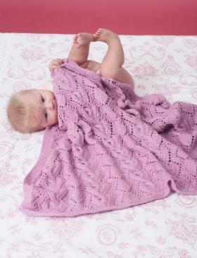 Ажурное покрывало для малыша - Фото 1