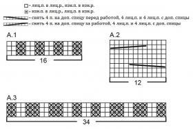 Комплект ягодные объятия - Схема 1