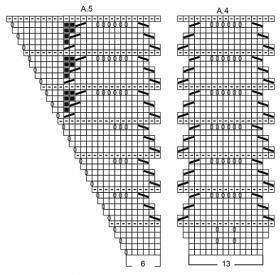 Шаль Прилив - Схема 3