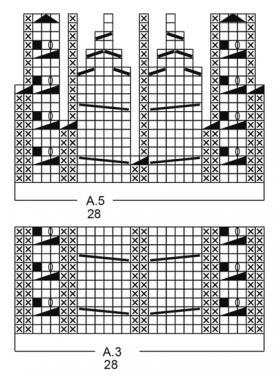 Комплект зимняя вьюга - Схема 1