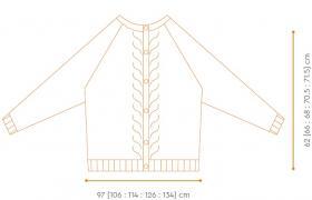 Кардиган Сумах - Выкройка 1