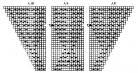 Шаль рог изобилия - Схема 5