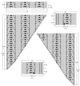 Джемпер персиковая нота - Схема 3