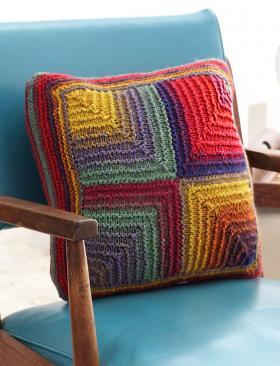 Цветная диванная подушка