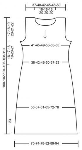 Платье мимоза - Выкройка 1