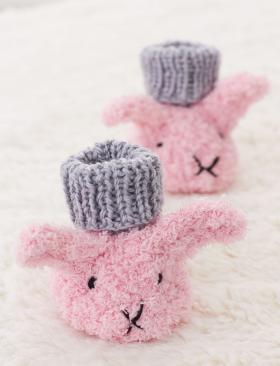 Пинетки-кролики - Фото 1