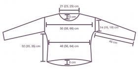 Пуловер Ретама - Выкройка 1