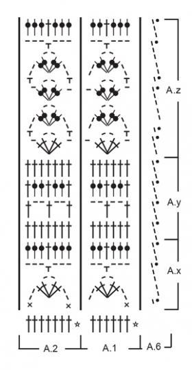 Джемпер Сахара - Схема 2