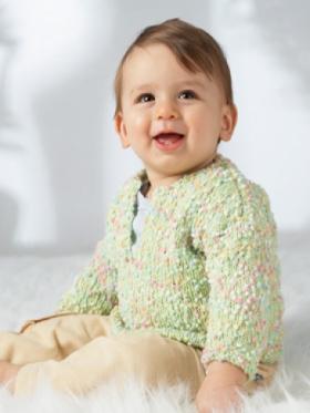Простой пуловер для малыша