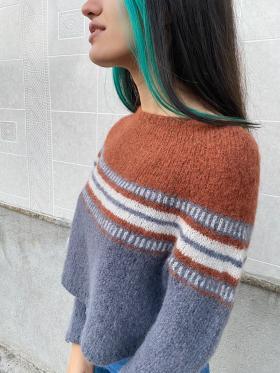 Пуловер В дороге - Фото 1