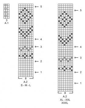 Свитер Олд Мил - Схема 2